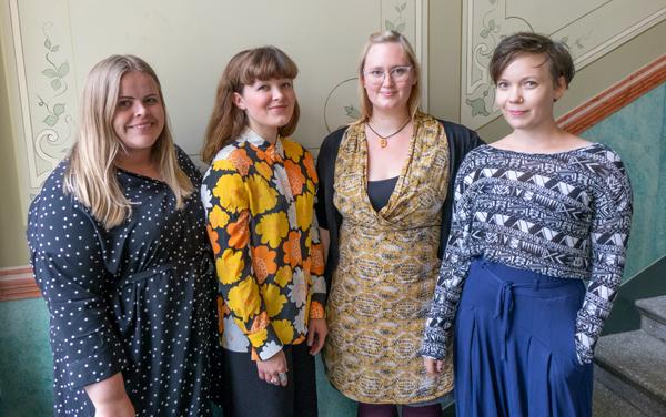 Mottagarna av Fredrika Runeberg-stipendiet 2018